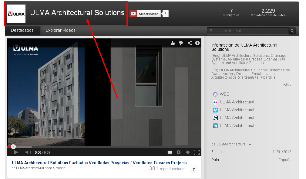 ULMA Architectural Solutions YouTube
